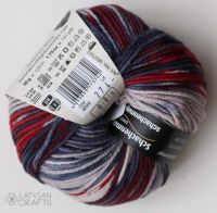 "Merino Extrafine Color 120 Arne & Carlos /Schachenmayr/ 50g #502 ""Lesja color"""