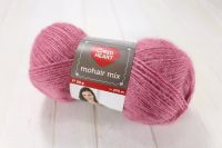 "Mohair Mix / Red Heart 50g #06682 ""Sārts"""