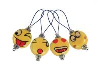 Stitch markers 12 pcs /Smileys /KnitPro Playful Beads