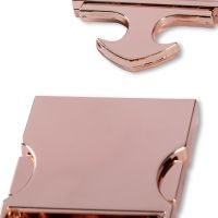 Belt buckle - rose gold /30mm/ Prym