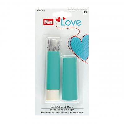 Needle twister with sewing and darning needles (19pcs) /Prym Love ― Latvian Crafts