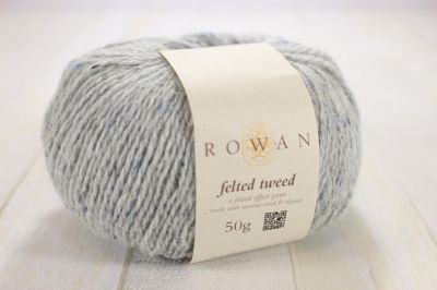 "Felted Tweed /ROWAN/ 50g #00197 ""Alabaster"" ― Latvian Crafts"