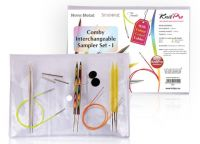 "Comby Sampler Interchangeable circular needle sampler set ""Set-1"" Knit Pro"