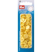 Plastic press fasteners - Circle - Banana - Ø12.4 mm - 30 pieces