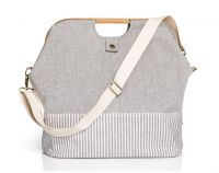 Store and travel bag for sewing machine 40.5 x 25 x 45 cm /linen color /Prym