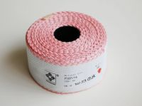 "Aida band for embroidery 14ct /Zweigart/ ""White + Pink"" - 10 x 5 cm"