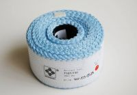 "Aida band for embroidery 14ct /Zweigart/ ""White + Light blue"" - 10 x 5 cm"