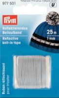 Rreflective knit-in thread/ Prym/ 1 mm/25meters