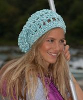 "Crochet Hat ""Rio Grande"" /Lumio Cotton"
