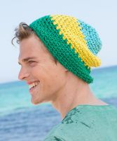 "Crochet Hat ""Venice Beach"" /Boston Sun"