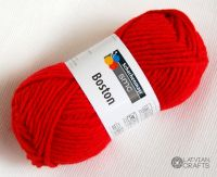 "Boston /Schachenmayr/ 50g #00030 ""Red"""
