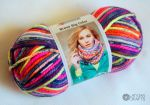 "Bravo Big color 200g /Schachenmayr #00092 ""Candy Print"""