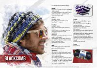 "Knitted hat ""Blackcomb""/Bravo Big Color"