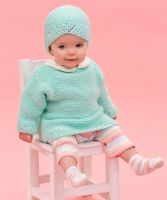 "Knitted Baby Sweater ""Camilla"" /Anne Geddes Baby"