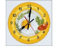 It's breakfast time - embroidery kit /RTO/ 20 x 20 cm