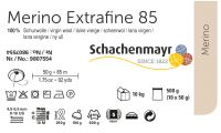 Merino Extrafine 85 /Schachenmayr/ 50g - 500g pack - full color card