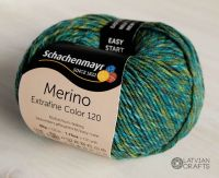 "Merino Extrafine Color 120 /Schachenmayr/ 50g #498 ""Olive gold mix"""