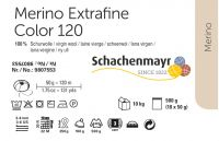 Merino Extrafine Color 120 /Schachenmayr/ 50g- full color card