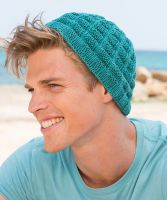 "Knitted Hat ""Ocean Beach"" /Sun City Protect"