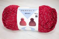 "Reflect - reflective yarn /Perfect/ 100g #1098 ""Red"""