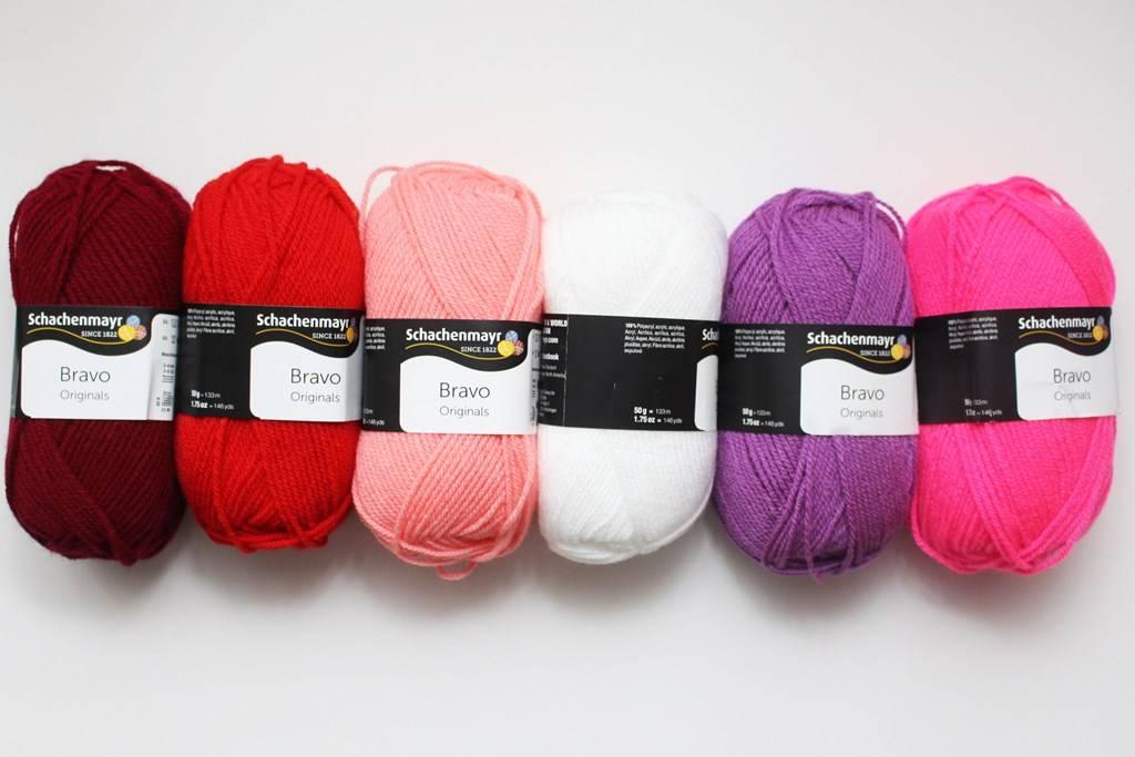 Bravo Schachenmayr Color Sample Kit 20x50g ― Latvian