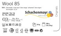 Wool 85 /Schachenmayr/ 50g - 500g pack - full color card