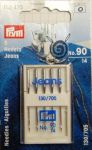 Jeans needles, 5pcs 90/14