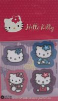 "Hello Kitty iron-on motif ""Purple"" B"