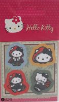 "Hello Kitty iron-on motif ""Green"" C"
