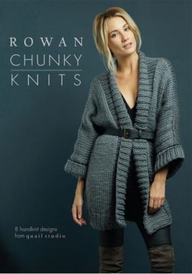 Rowan Chunky Knits /English, German ― Latvian Crafts